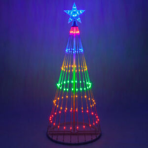 image is loading led outdoor christmas light show motion tree multi