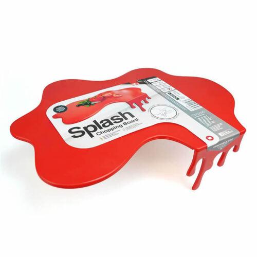 Tagliere da Cucina Rosso Macchia di Sugo Splash Chopping Board