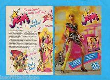 TOP986-PUBBLICITA'/ADVERTISING-1986- HASBRO - JEM  (versione C)