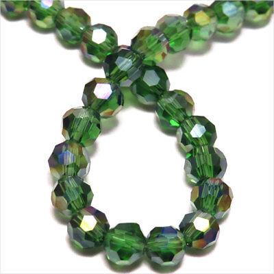 Pack Von 30 Perlen Facettiert 4mm aus Kristall Von Böhmen Kristall Ab