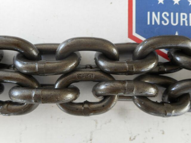 """Campbell Chain 040551210 1//2/"""" X 10 FT Grade 100 Alloy Chain Bright"""