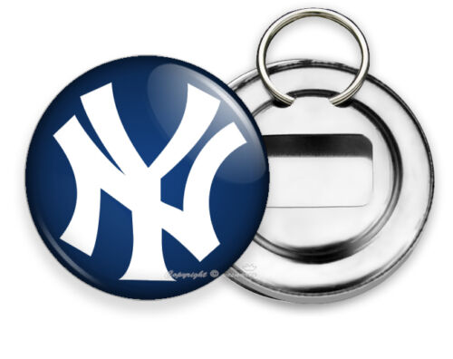 NEW YORK YANKEES BASEBALL TEAM BOTTLE OPENER KEYCHAIN KEY FOB GAME FAN GIFT IDEA
