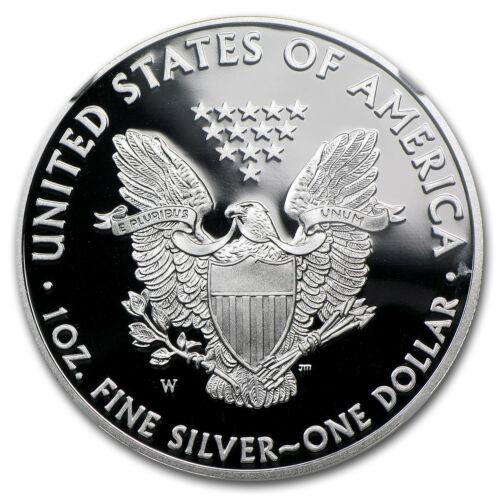 SKU #70015 2012-W Proof Silver American Eagle PF-69 NGC