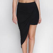 01ebc07669 item 2 Womens Wrap Asymmetric Drape Ruched Maxi Party Side Split Slit Midi  Mini Skirt -Womens Wrap Asymmetric Drape Ruched Maxi Party Side Split Slit  Midi ...