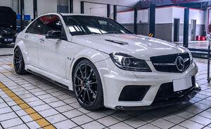 Mercedes Quot Black Quot Wide Body Kit C204 W204 Saloon Sedan
