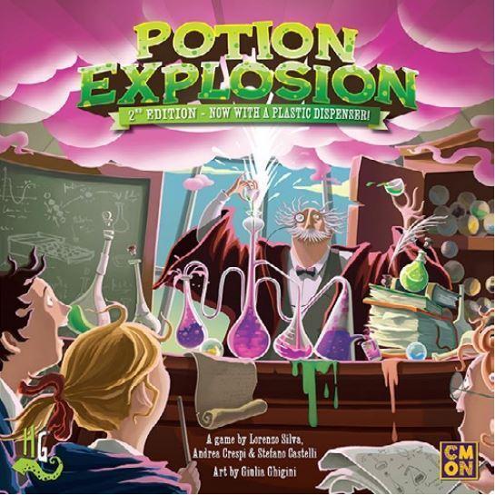 Potion Explosion 2ème Édition - Jeu de Plateau de Stratégie