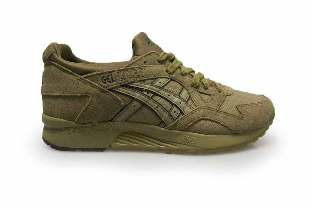 Mens Asics Gel Lyte V 5 - H70PJ8585 - Green Khaki Trainers