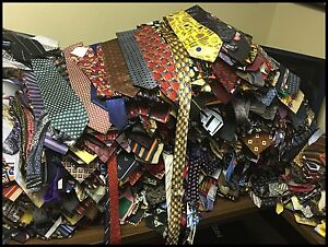 LOT-50-PCS-100-SILK-NECKTIES-DRESS-SUIT-NECK-TIE-QUILT-CRAFT-TIES-FREE-SHIPPING