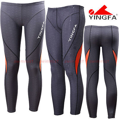 FINA APPROVED NWT YINGFA 9205-2 SHARKSKIN COMPETITION JAMMER M BOYS 12-14 Sz28
