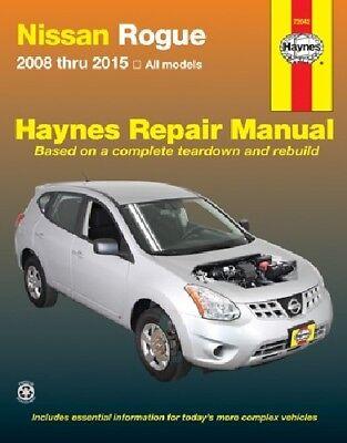 Service & Repair Manuals Nissan Rogue Haynes Repair Manual 2008 ...