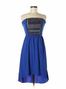 Maurices Women Blue Dress S
