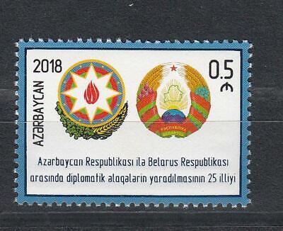 Treu Azerbaijan Aserbaidschan Mnh** 2018 Mi.1392 Joint Issue Belarus