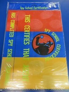 G force stickers - Top Secret Agent Detective Spy Birthday Party Favor Award