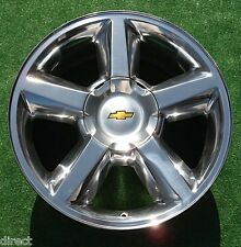 NEW Chevy Avalanche Tahoe Suburban POLISHED 20 inch LTZ OEM GM Style WHEEL 5308