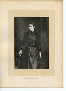 Vintage-Cabinet-Card-by-W-amp-D-Downey-Mary-Augusta-Ward-British-novelist