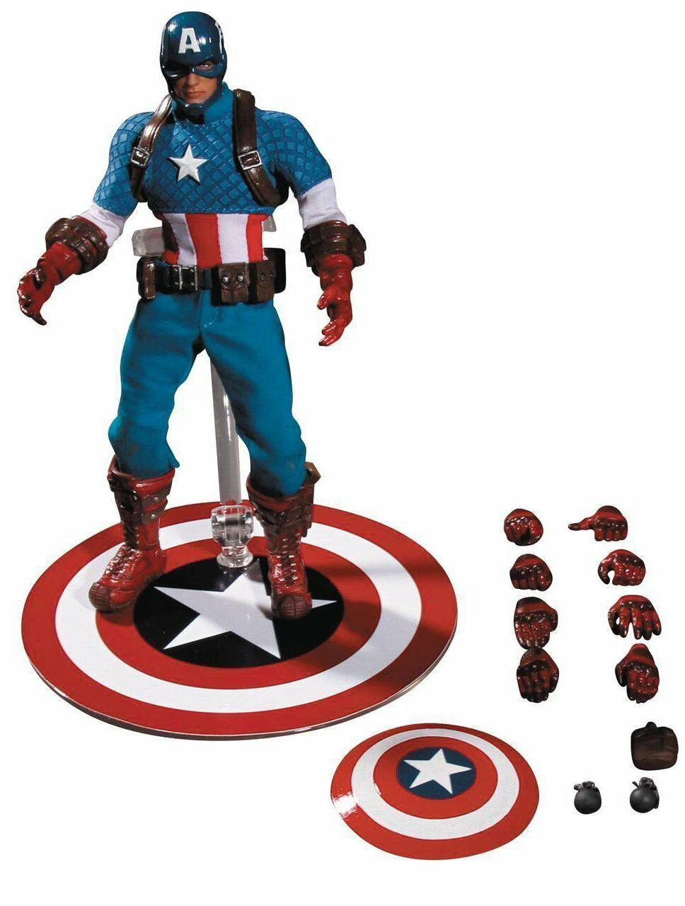 Captain America 1:12 Collective Action Figure