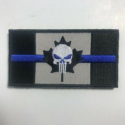 Punisher Canadian Flag Version 2 Decal 5