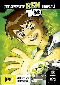 1 of 1 - - BEN 10: The Complete Season 1 (DVD, 2-Disc Set) BRAND NEW [ALL REGIONS] 21.75