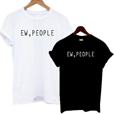Sarcastic Me Never T Shirt Sarcasm Funny Joke Slogan Celeb Fashion Tee Cute Love