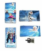 Disney Frozen Elsa Olaf leather phone case iPhone 4 5 5c 6 Samsung S3 S4 Mini S5
