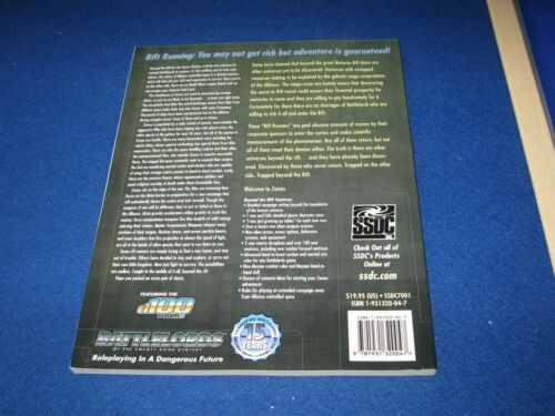 BATTLELORDS OF THE TWENTY THIRD CENTURY RPG OOP 23rd Campaign0 BEYOND THE RIFT