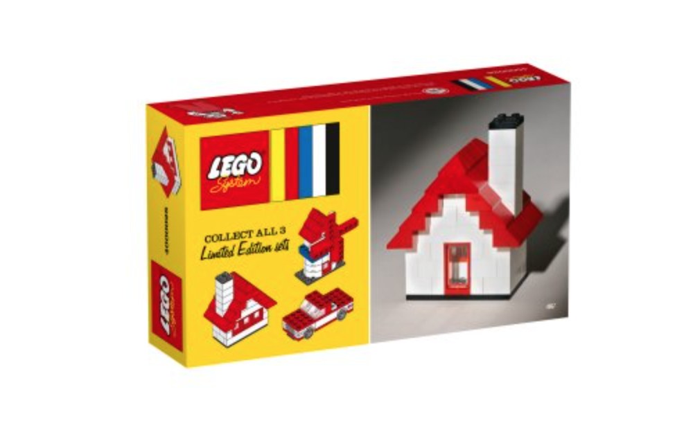 LEGO 4000028 House Classic Set 60th Anniversary  / Collectible Toy