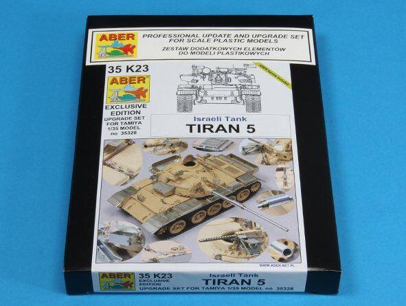 1 35 ABER 35 K23 Israeli Tank Tiran 5 upgrade set for Tamiya 35328 kit