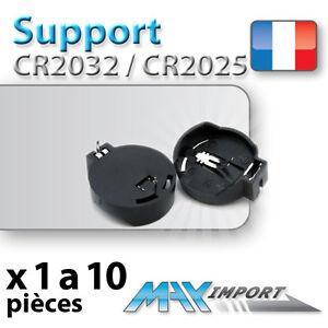 support pile cr2032 cr2025 battery holder lots multiples prix d gressif ebay. Black Bedroom Furniture Sets. Home Design Ideas