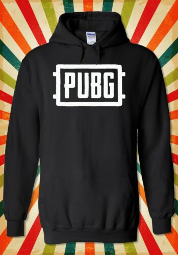 PUBG Logo Multiplayer Battle Royal Men Women Unisex Top Hoodie Sweatshirt 2098