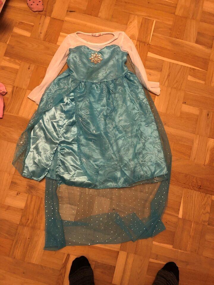 Kjole, Elsa kjole, Miniprincesser.dk