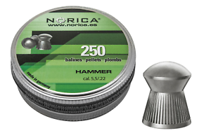 Norica-Hammer-Air-Gun-Pellets-22-5-50mm-qty-250-Free-P-amp-P