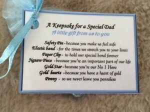Image Is Loading Novelty Keepsake Gift For Dad Special Christmas
