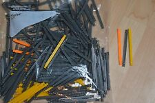 "KNEX ~234 3 7/16"" 86mm STANDARD YELLOW GRAY ORANGE RODS Replacement Parts Pieces"