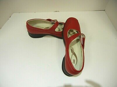 Propet Erica WPRX12 Women/'s Mary Jane Chili Red New in Box at Great Price!