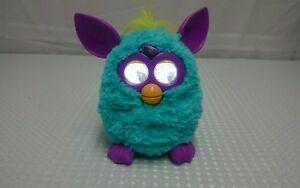 "2012 Furby Hasbro Blue & Purple 6"" Interactive Toy"