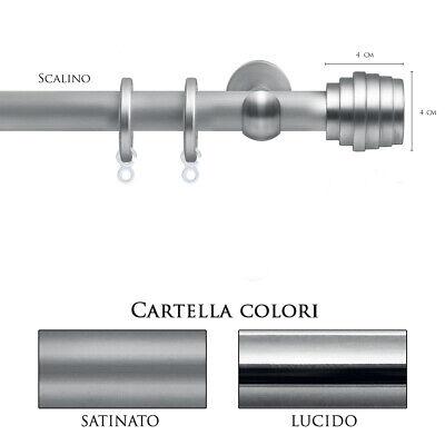 Creatief Scorritenda Bastone Per Tenda Alluminiostrappo Corda Con Anelli Scalino Vami Limpid In Zicht