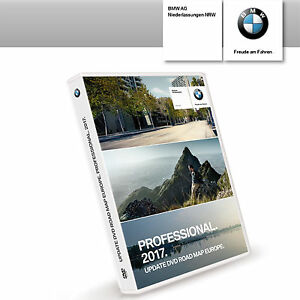 original bmw navi professional 2017 update dvd road map. Black Bedroom Furniture Sets. Home Design Ideas
