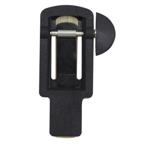 Black Reed Trimmer für Klarinette Reed Cutter Holzblasinstrument Musical