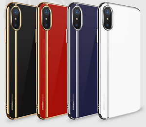 NEW-IPhone-X-phone-case-Luxary-Brand-Ultra-Slim-Electroplated-TPU-phone-cover