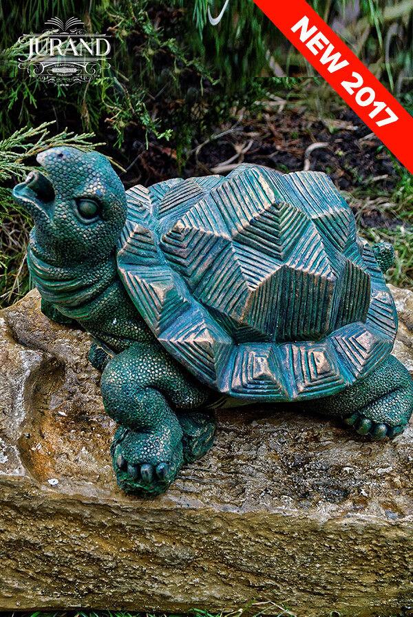 Escultura de Agua Fuente Estanque Spritz Spucker Figura Piedra Decoración 6033