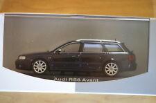 1:43 Audi RS6 Avant C5 blau blue MINICHAMPS innen schwarz black.s6 a6 quattro