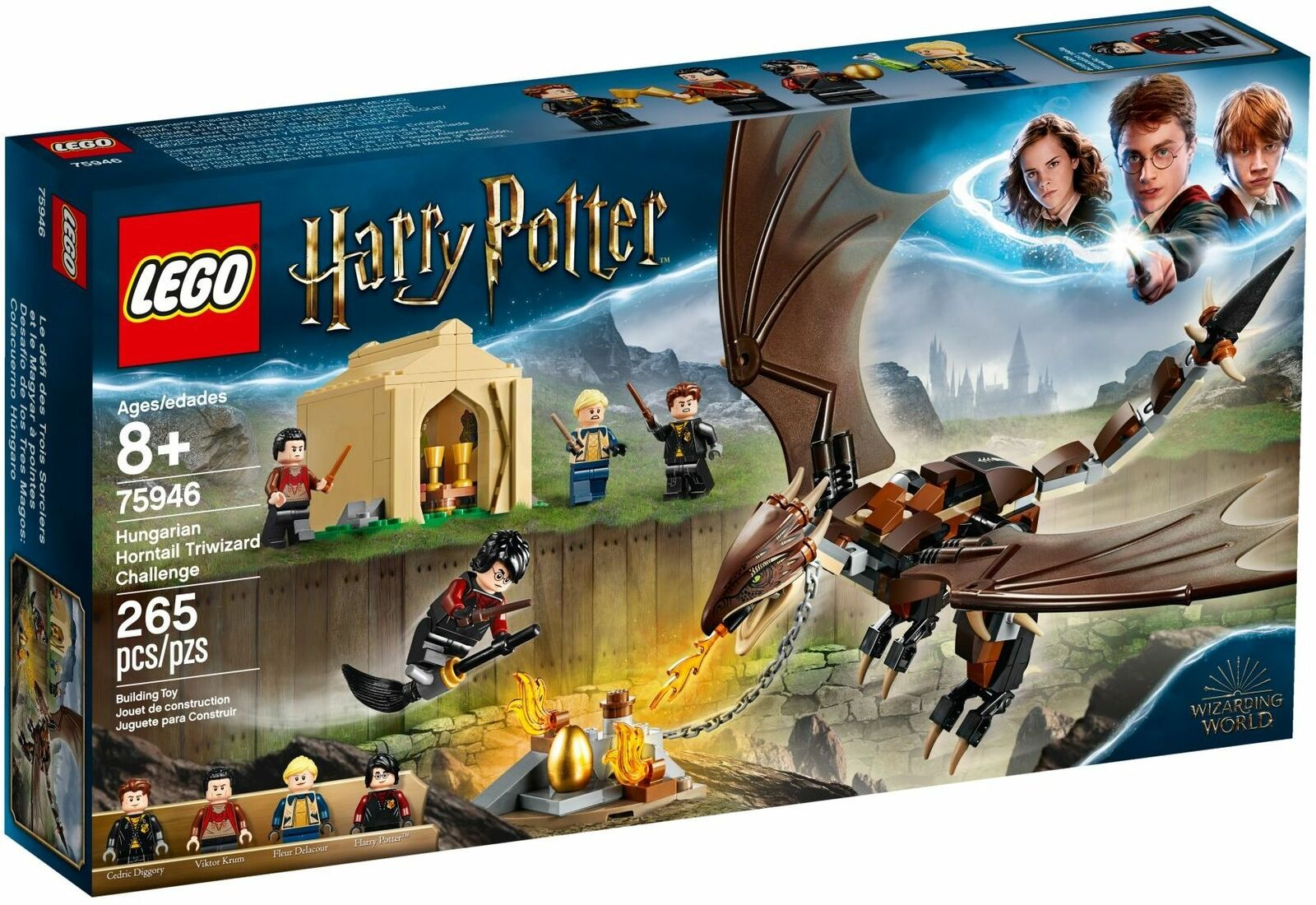 LEGO Harry Potter Hungarian Horntail Triwizard Challenge FREE SHIPPING