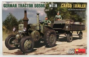 MINIART 1/35 LANZ   BULLDOG D8506 MILITARY TRACTOR WITH TRAILER 1942   /