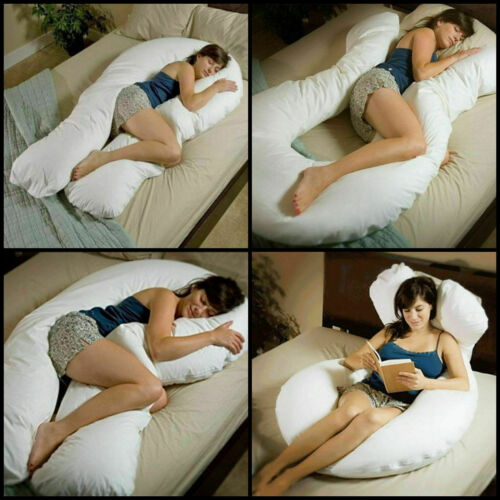 Luxurious U Shaped Pillow For Extra Comfort Body And Orthopaedic Care