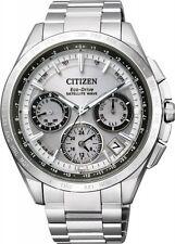 Citizen Eco-Drive Men's Satellite Wave Titanium Silver Watch # CC9010-74A