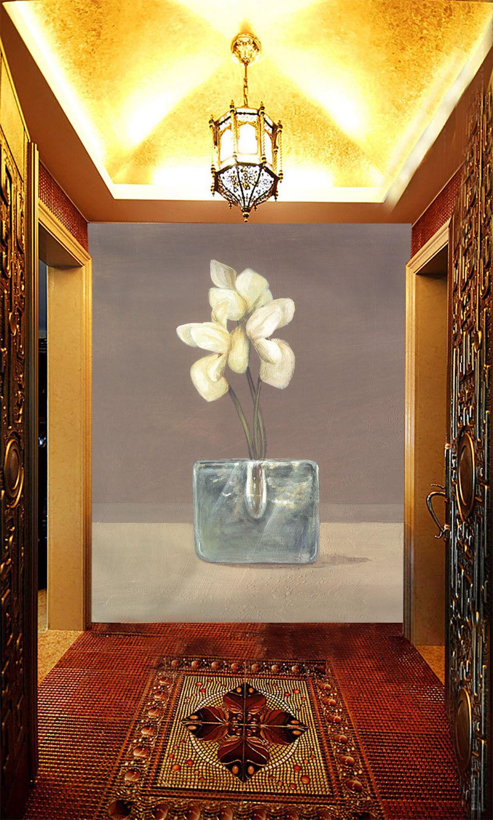 3D Flower Paint 618 Wallpaper Murals Wall Print Wallpaper Mural AJ WALL AU Kyra