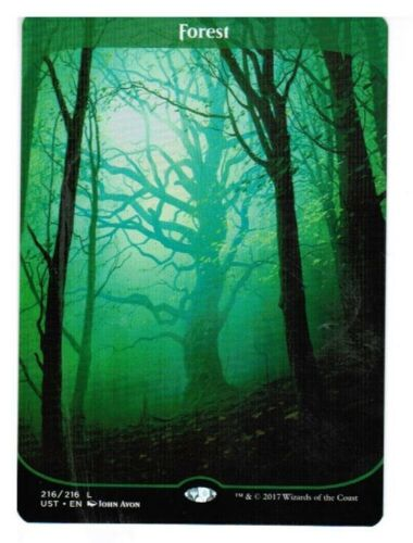 MTG Unstable M//NM Fresh Pack 216 English Magic The Gathering Land L x1 Forest