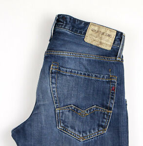 Replay-Hommes-Slim-Jeans-Jambe-Droite-Taille-W29-L32-APZ667