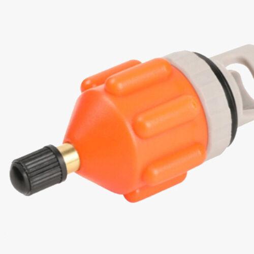 1stk Kanu Kajak Pumpe Ventil Adapter SUP Standup Paddle Board Kompressor Nylon