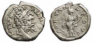 Emesa Mint *aet* Septimius Severus Ar Denarius Fortvn Redvc Vf/vf+ Ample Supply And Prompt Delivery